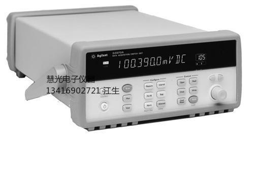 34970A数据采集仪维修