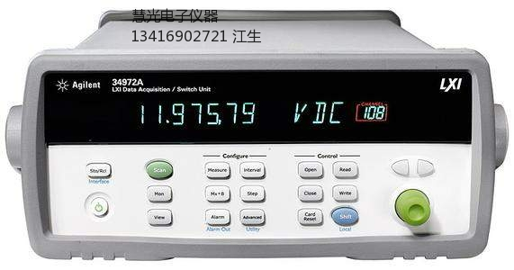 34972A数据采集器维修